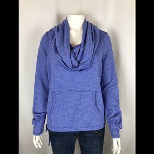 REI Long Sleeve Cowl Neck Shirt With Pockets